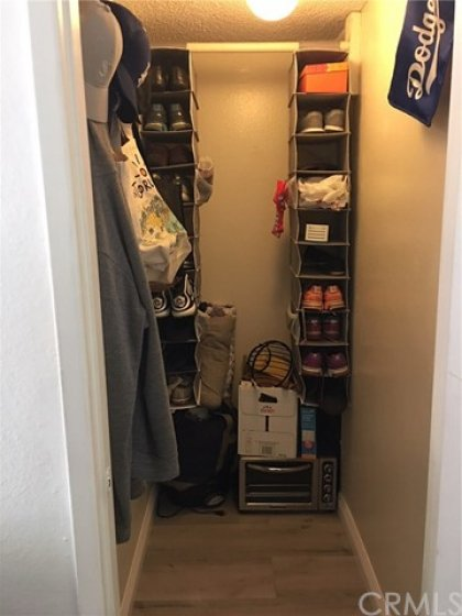 Downstairs Storage Closet