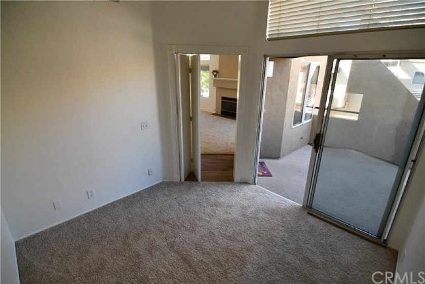 This is your private den. Has it's own exterior entry/exit dual pane sliding door. Folding doors to close off for privacy. Could this be your new work at home office? Or what else could you use it for? Many possibilities.