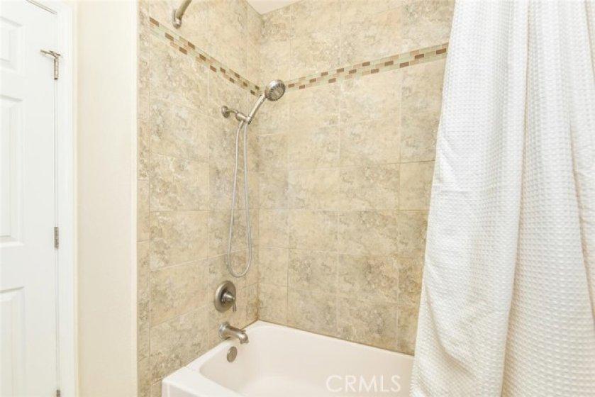 Bath shower and tub