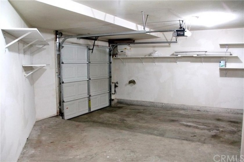 This is a one car garage