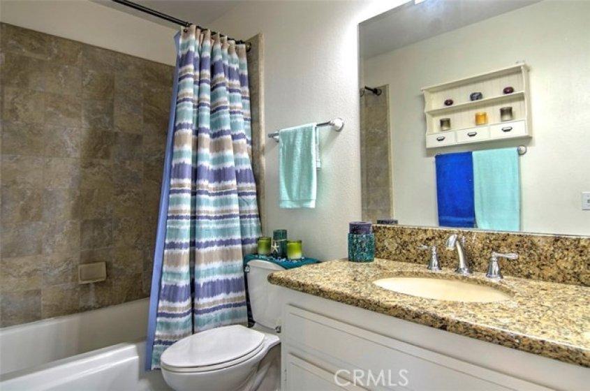 Large Remodeled Hall Bathroom