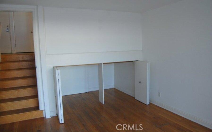 Lower bedroom closet