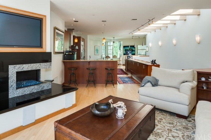 . . . Soft Contemporary / Transitional aesthetic with a great room concept . . .