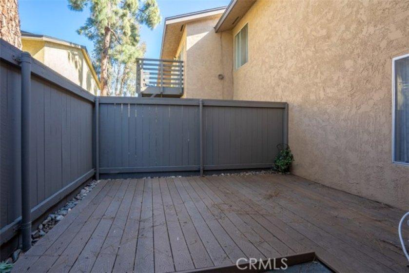 Nice deck patio