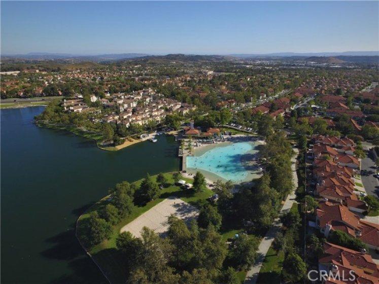Short distance to Rancho Santa Margarita Lake & Beach Club