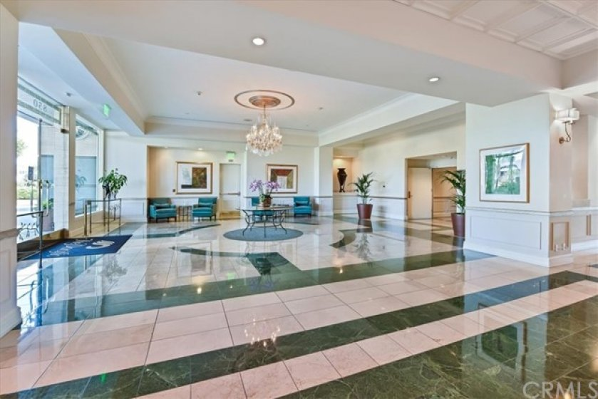 The Lobby area from the front desk