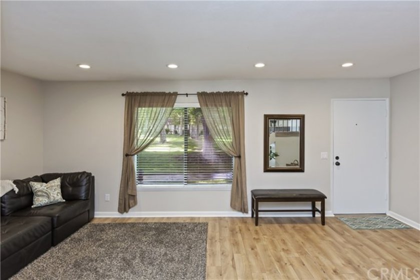 Enter into the family room