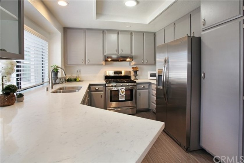 Beautiful bright and airy kitchen with all appliances in the perfect handy locations