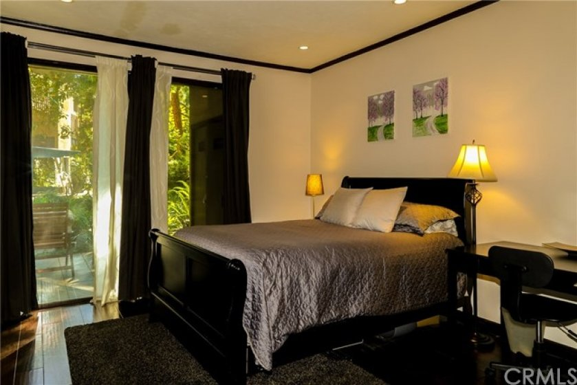 Master Bedroom. You can hear the sound of the relaxing water