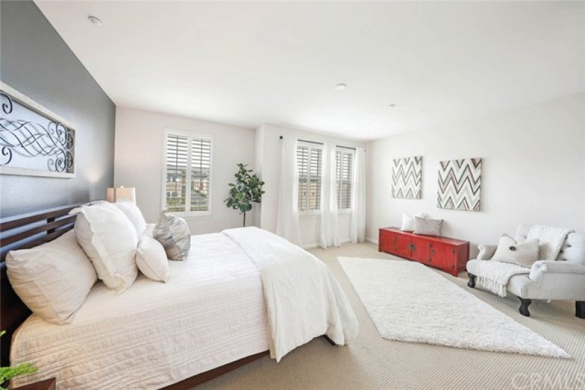 Over sized master suites in both bedrooms offer an abundance of space.