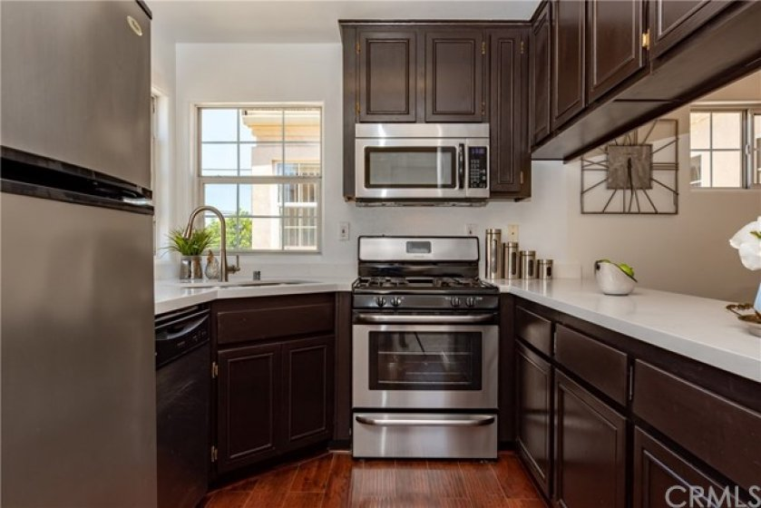 Well lit and well equipped functional spaced kitchen