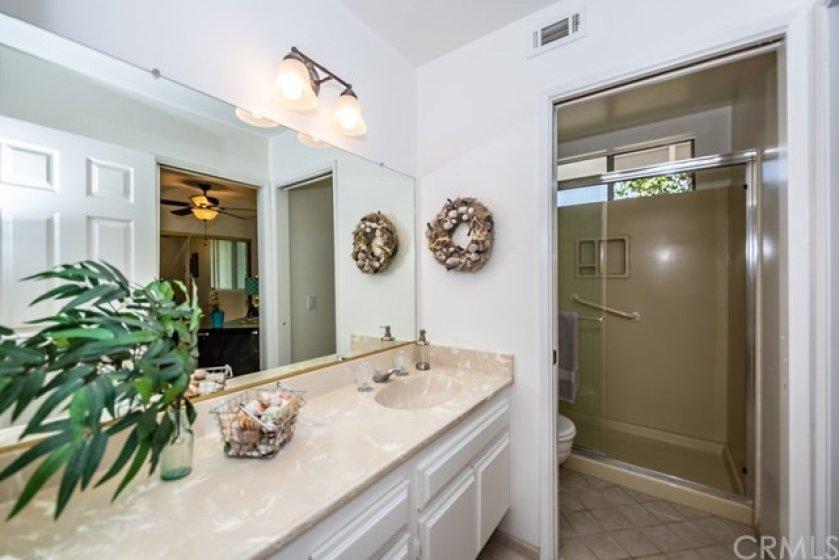 Jack n Jill bathroom shared by both bedroom 2 & 3.