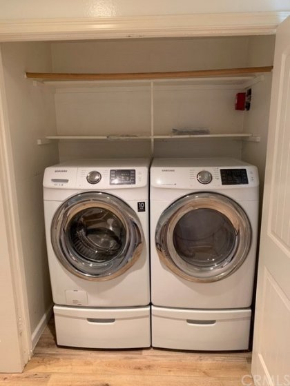 Newer Washer & Dryer Included!
