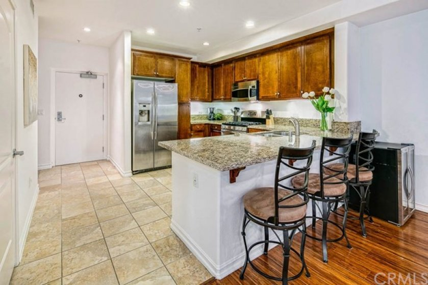 Formal entry and modern open floor plan, perfect for entertaining and self enjoyment