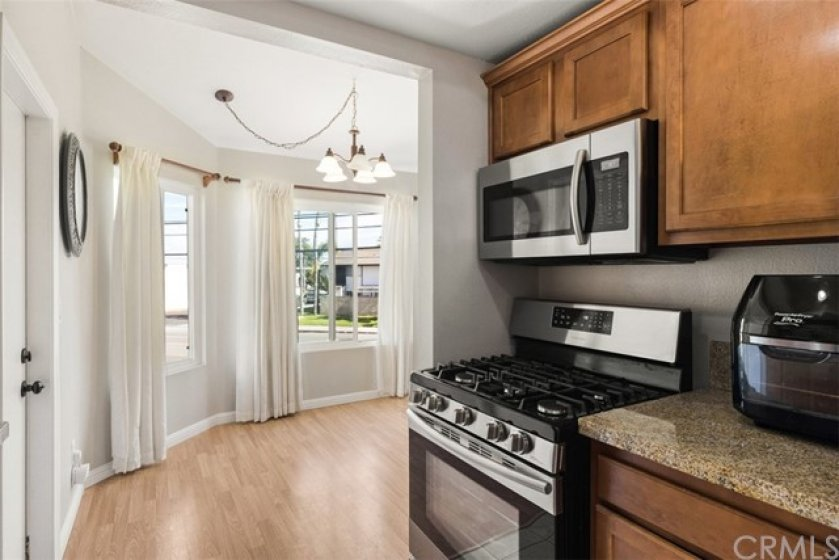 Newer Stainless Steal Appliances.
