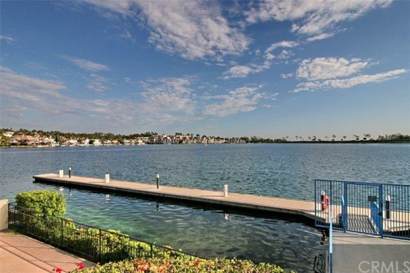 Enjoy boating at Lake Mission Viejo