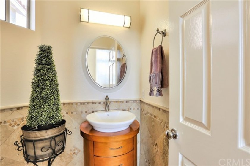 Lovely Half Bathroom