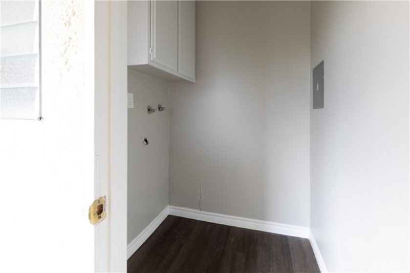 Another view of Private Laundry Room.