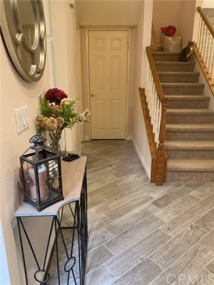 Newly upgraded flooring ... gorgeous!! (thru-out foyer, kitchen & powder room)