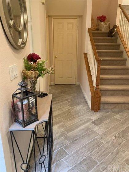 Newly upgraded flooring ... gorgeous!! (thru-out foyer, kitchen & powder room)
