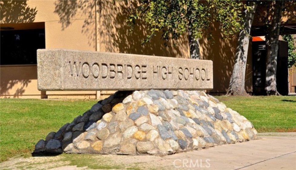 Excellent Irvine School District-- address is serviced by Woodbridge High