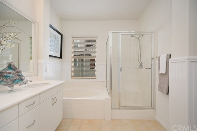 Another view of the master bath area.