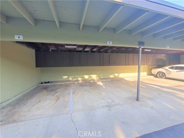 Parking Space Carport