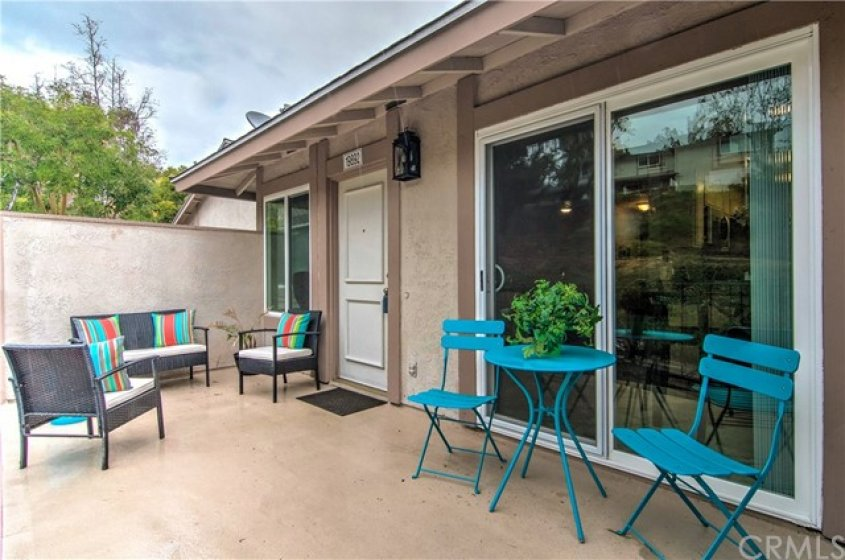 LARGE PATIO WITH PLENTY OF ROOM FOR ENTERTAINING!