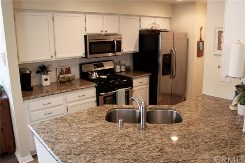 Ample countertop space