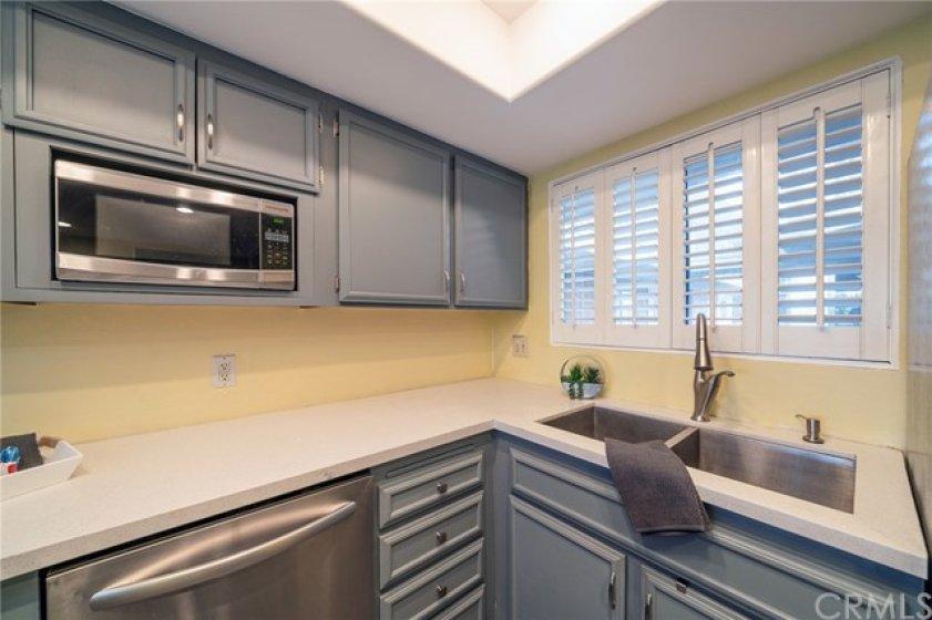 Custom paint on Cabinets