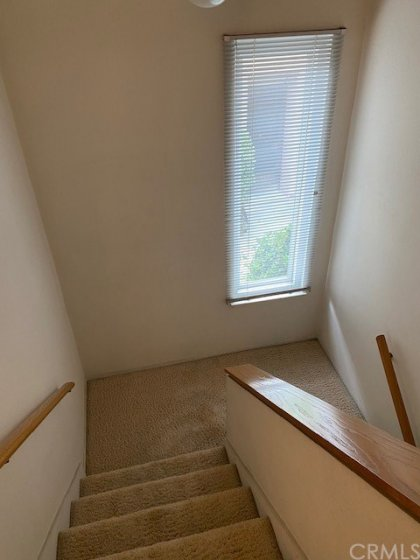 Stairwell to second story