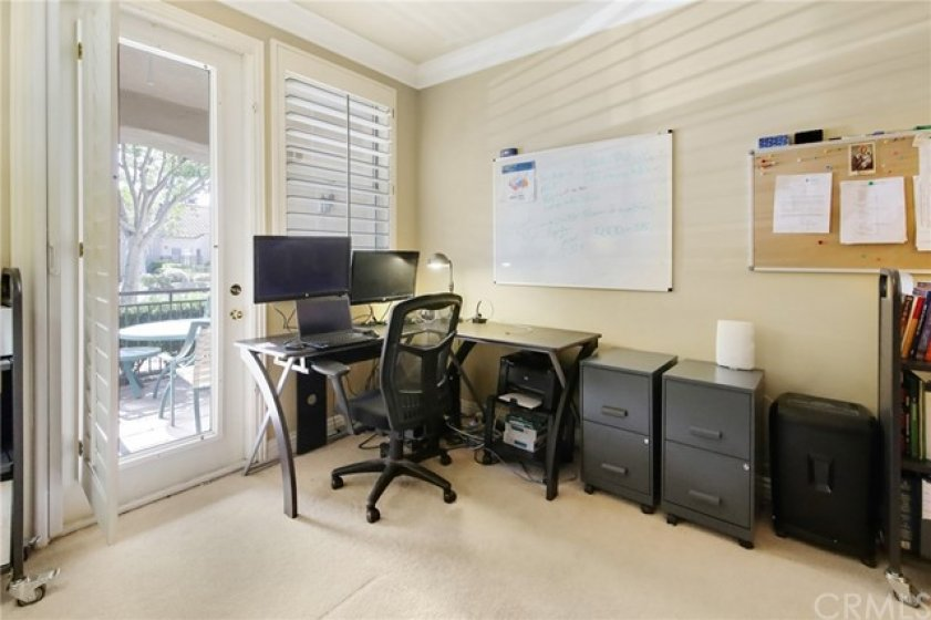 Downstairs bedroom can be used as an office