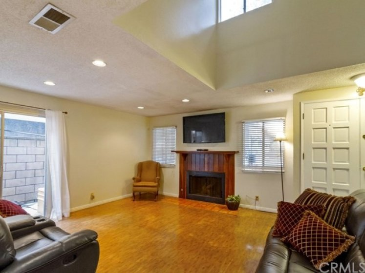 Patio is located off the family room.  Perfect for family gatherings.