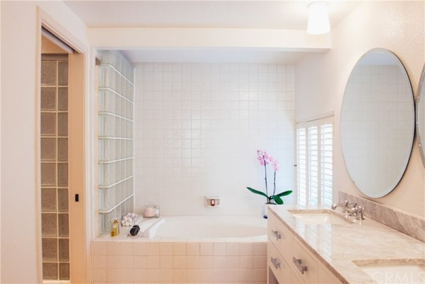 with walk-in closets and large master bathroom