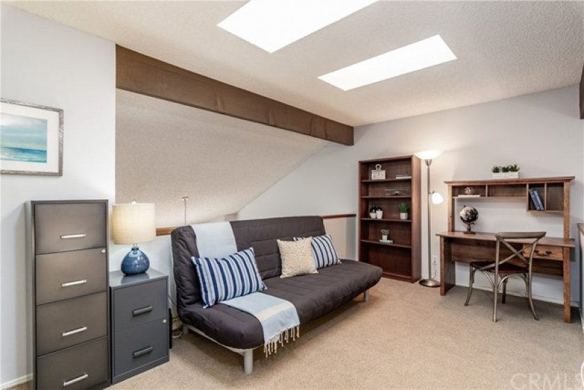 This great bonus loft is ideal for a home office, additional media room or occasional guest area.