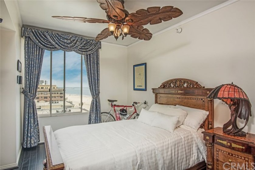 Experience the view from the second bedroom.