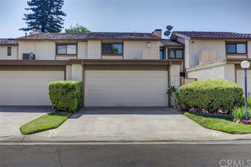 Large Driveway leads to your Private 2 car garage with plenty of storage.