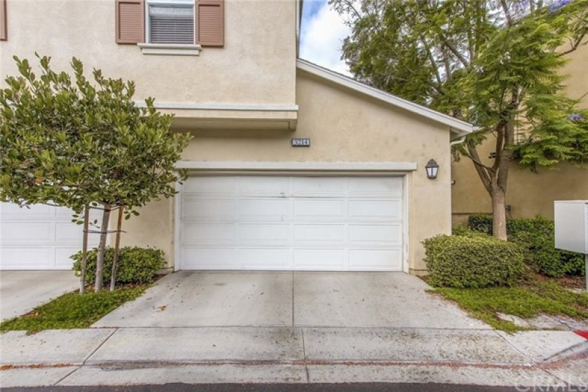 Your hard to find driveway and 2 car garage, which has direct access into your new home!