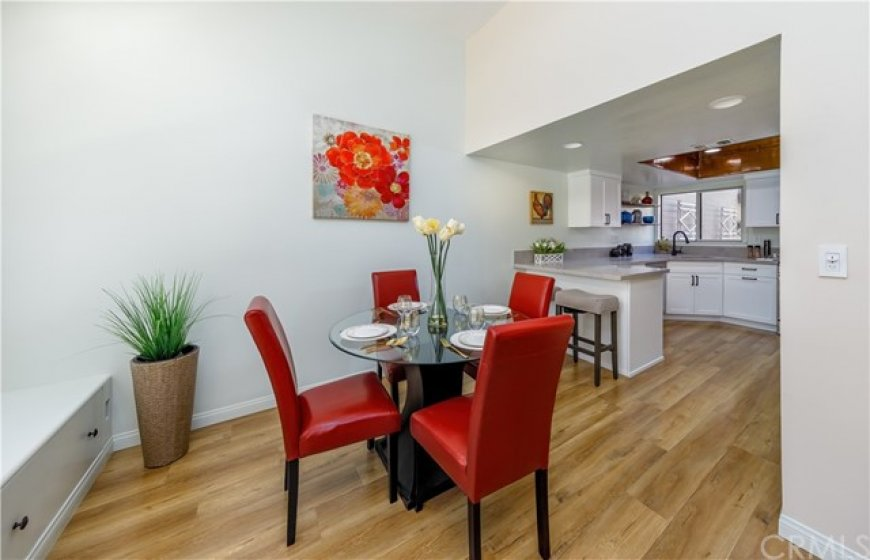Dining Area, Window Seat--View of the Beautiful Outdoors and Open to the Kitchen