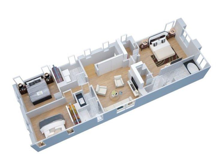 Artisan 1 Floorplan