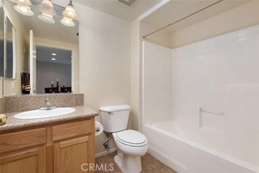 2nd level FULL bathroom