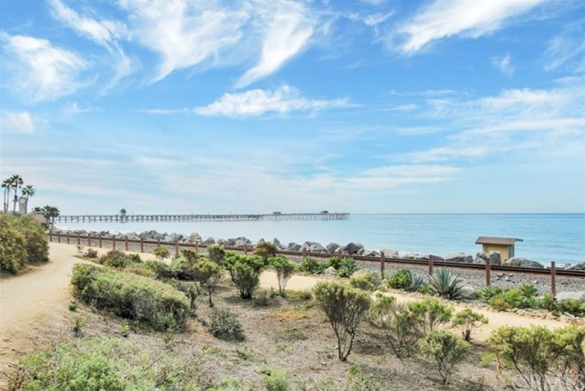 Enjoy the 4 miles of beach trail that runs along the coast of San Clemente.