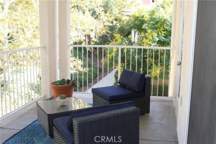 Outdoor Balcony Seating