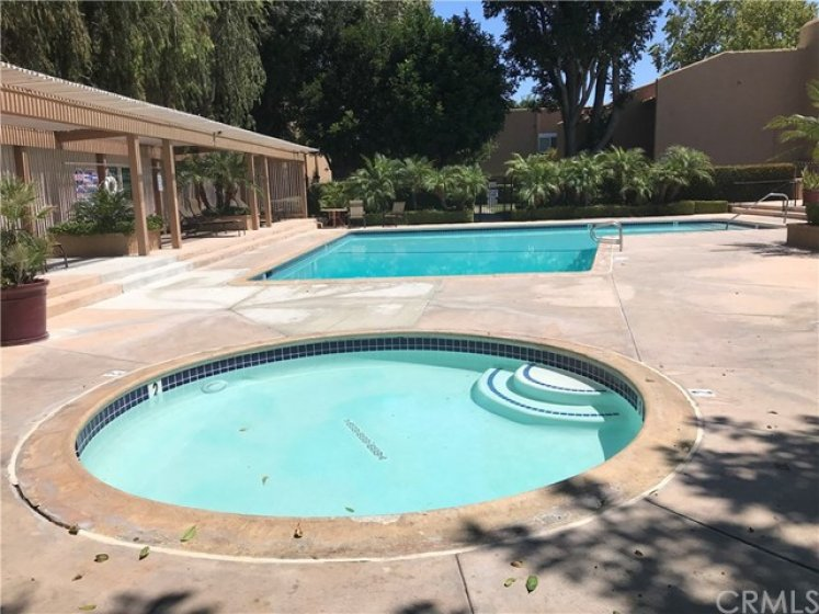 Community Pool & Spa located just steps from your condo. The HOA has recently upgraded the community with new paint and more.