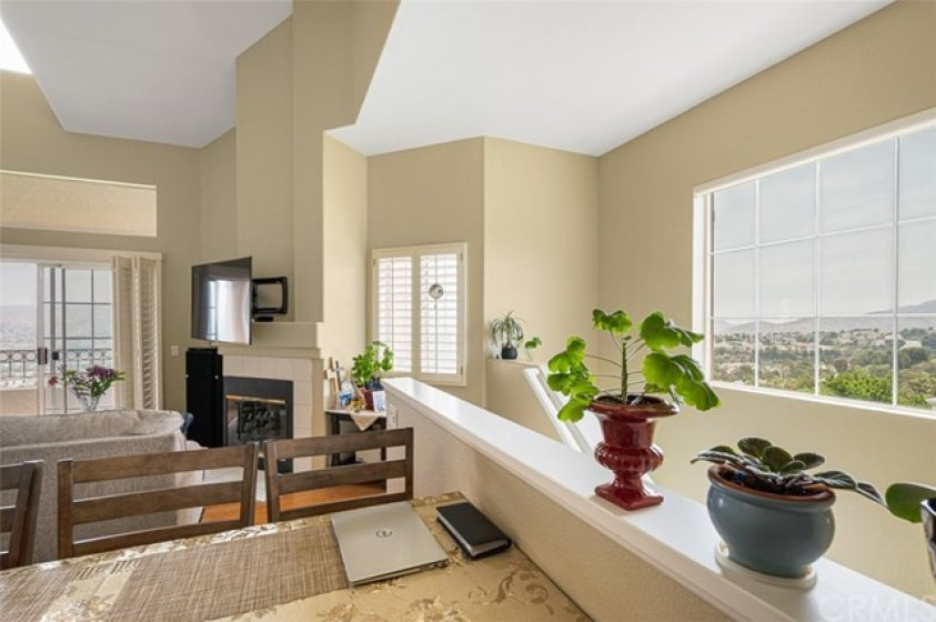 Many windows add to light and bright interior living.