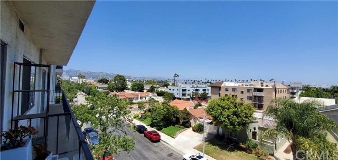 Balcony View - Hollywood Hills