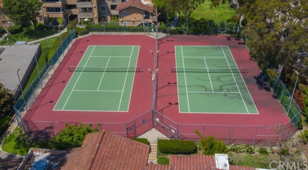 Tennis courts for your enjoyment.