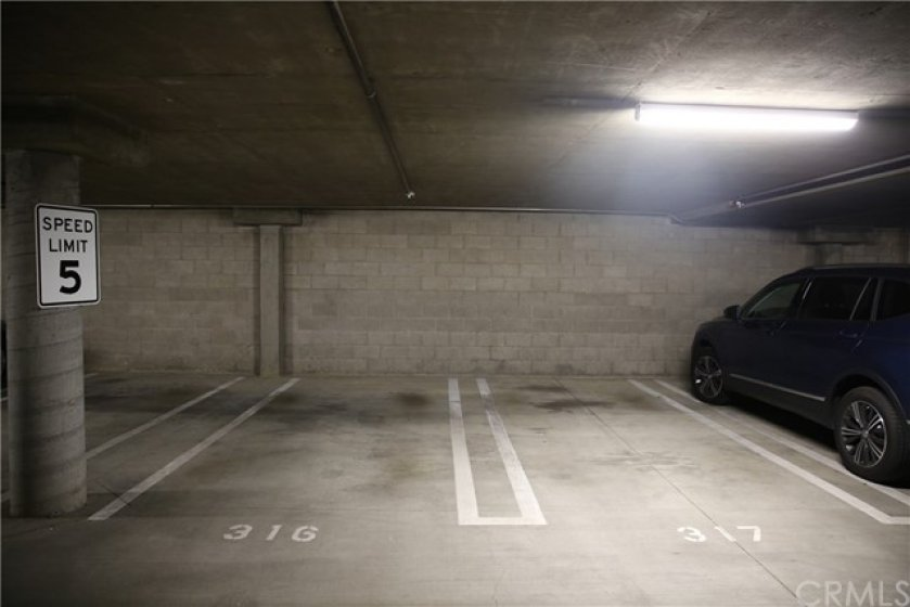 Assigned Side by Side Parking Spaces