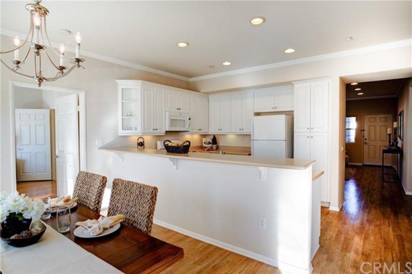 Large open kitchen floorplan