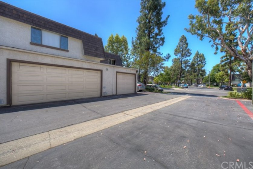 2 car garage with direct access to home